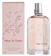 L'Occitane Cherry Blossom Eau de Toilette New Boxed 75ml Full Size.