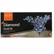 3 X VLCC Diamond Facial Kit 45g 5 Ml for Skin Polishing and Purification