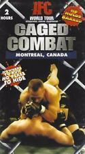 VHS:  IFC CAGED COMBAT WORLD TOUR  MONTREAL. CANADA