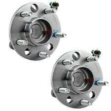 Pair Set of 2 Front WJB Wheel Bearing & HD Hub Assies Kit for Buick Cadillac