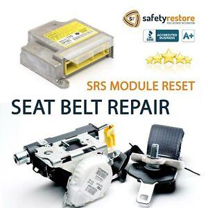 #1 FOR MERCEDES SEAT BELT REPAIR BUCKLE PRETENSIONER REBUILD RESET RECHARGE