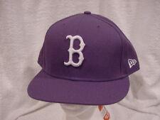 SWEET Boston Red Sox Men's Sz 8 New Era 59fifty Purple Hat, NEW&NICE!!