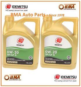 10 quarts OF OEM TOYOTA PRIUS SCION 0W20 Synthetic Idemtitsu MOTOR OIL 20102 059