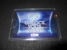 The 4400 Season Two Case Topper Trading Card Unlock Your Mind CL-1