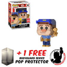 FUNKO POP WRECK IT RALPH FIX IT FELIX 8-BIT SDCC 2018 EXCLUSIVE FREE PROTECTOR