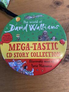 David Walliams Audio Books Cd Set 9 Stories