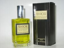 The Perfumer's Workshop Tea Rose Eau De Toilette Spray for Women 4.0 oz EDT NIB