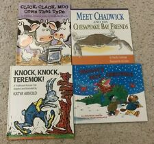 Lot Of 4 Children's Books - Animal Characters & Short Stories