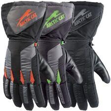 Arctic Cat Adult Advantage Insulated High-Cuff Gloves - Orange, Green, Black