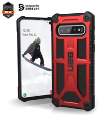 Case UAG MONARCH for Samsung Galaxy S10 PLUS - CRIMSON RED