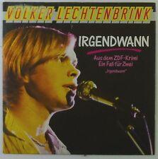 """7"""" Single - Volker Lechtenbrink - Irgendwann - S931h - washed & cleaned"""