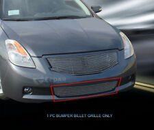 Polished Billet Grille Front Bumper Grill For 2008-2009 Nissan Altima Coupe