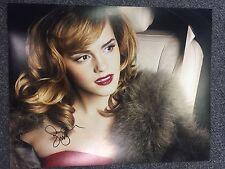 Emma Watson Autographed Signed 11x14 Photo JSA COA