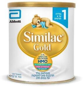Similac Gold Stage 1 Breast-milk Substitute Powder 0-6 Months Kosher 700g