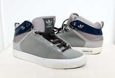 Adidas Originals Vintage Trefoil Retro Mid-Cen AF4248 UK 5.5 Hi Top Trainers