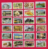 Lot  de 36 timbres France différents.