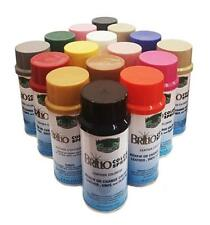 BRILLO Color Spray Nu-Life Leather/Vinyl/Plastic Renew 4.5 oz Made in USA