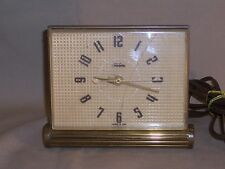 GENERAL ELECTRIC TELECHRON ELECTRIC DESK CLOCK MODEL 7HA179 - Parts or Repair -