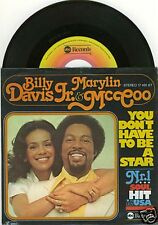 """MCCOO & DAVIS JR. You Don't Have To Be A Star 7"""""""