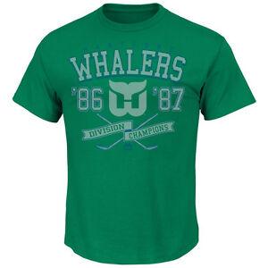 NHL T-Shirt Hartford Whalers Vintage Winners Majestic Eishockey