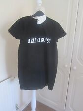 BNWT THE STORE VETEMENTS  SS T SHIRT EXCLUSIVE BLACK HELLO BOYS T SHIRT SIZE L