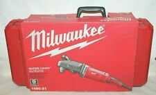 """Milwaukee 1680-21 1/2"""" Super Hawg Corded Right Angle Drill w/Carrying Case - New"""