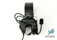 Z-Tactical Comtac IV Tactical Headset with Noise Reduction Function ZTAC Z038 BK