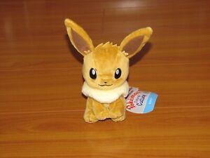 EEVEE Pokemon Center Poke Plush Sitting Cuties stuffed doll NEW