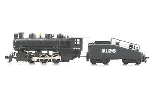 HO Bachman Santa Fe 0-6-0 Steam Locomotive & Tender Motor Runs Gear Issue