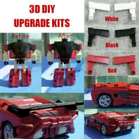 3D DIY upgrade KIT FOR Siege Sideswipe Red Alert car tail Spoilers NEW