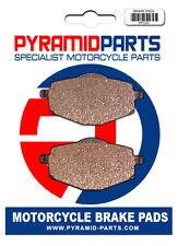 Rear brake pads for Yamaha YZ250 1988