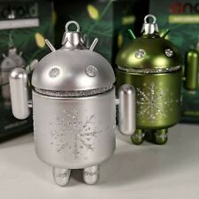 Android Mini Collectible 2018 Spec. Ed. - Silver & Green Ornament by Andrew Bell