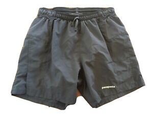 "Patagonia Men's Strider Pro Shorts. 5"" Graphite Blue Gray, XS"