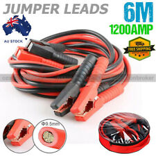 Heavy Duty 1200AMP Jumper Leads Jump 6m LONG Booster Cable Surge Protected AU