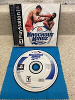Knockout Kings 2001 (Sony PlayStation 1, 2000)