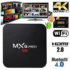 2018 MXQ PRO Android 7.1 Smart TV Box - UK PLUG - September Version