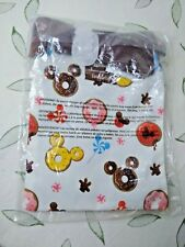New listing Loungefly D 00006000 isney Mickey Mouse Sprinkle Donuts Passport Crossbody Bag