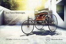 Mercedes Benz Patent Motorwagen 1886 Prospekt 1 11 2011 Autoprospekt Auto PKWs