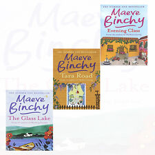 Maeve Binchy Collection 3 Books Set NEW The Glass Lake,Tara Road,Evening Class