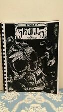 HORIMOUJA TIBETAN SKULLS TATTOO FLASH BOOK NEW