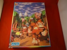 Donkey Kong Country 99 Piece Puzzle Play Time Nintendo SNES 1996 Donkey & Diddy