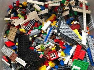 1kg Mixed Building Bricks/Construction Blocks/Parts/Pieces Unusual Parts Job Lot