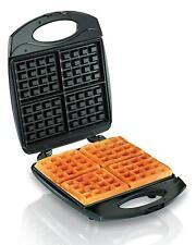 Hamilton Beach 4-Piece Belgian Waffle Maker (26020). Easy-Clean, Nonstick Grids