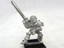 Warhammer Chaos Citadel rogue trader era 1980s Thug Warrior Fighter lord  Rare