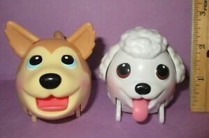 Chubby Puppies Puppy Spin Master White Poodle Ice Cream Husky Lot Dog