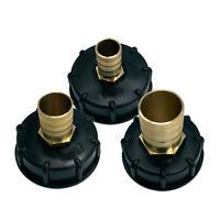 "IBC Tote Tank Fitting Adapter 1/2"" 3/4"" 1""  Fine Water Tank Female Thread"