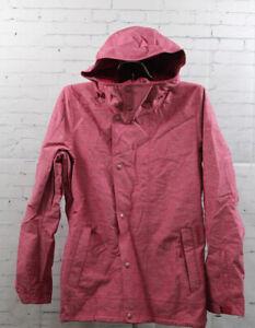 O'Neill White Gold Snowboard Jacket Women's Medium Framboise Pink New