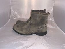 Men's Bed Stu Gray Revolution Distressed Boots size 9
