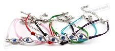 50 Mix Multi colored Evil Eye Bracelets STRING Kabbalah HOLY Success Good Luck