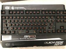 Cooler Master Quick Fire Rapid Mechanical Gaming Keyboard